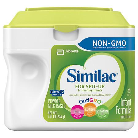 Similac For Spit-Up, Infant Formula with Iron, Powder - 1.41 lb