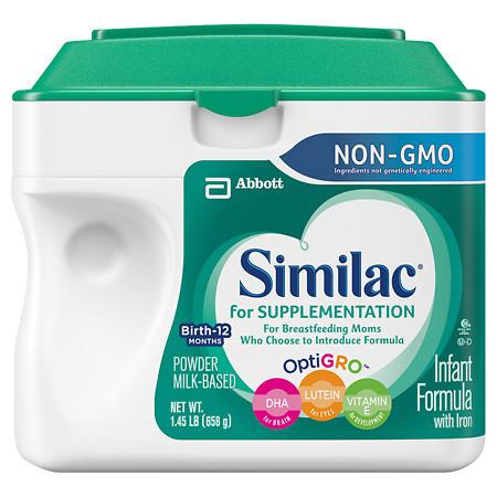 Similac For Supplementation Infant Formula with Iron, Powder - 1.45 lb