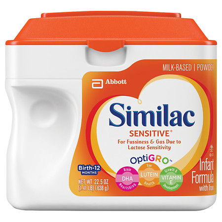 Similac Sensitive Infant Formula with Iron, Powder - 1.41 lb