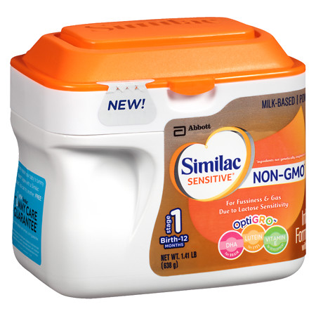 Similac Sensitive Non-GMO Powder Makes 169 Ounces - 169 oz.