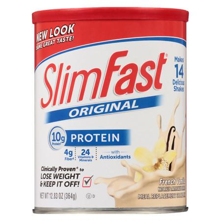 SlimFast Shake Mix Powder French Vanilla - 12.83 oz.