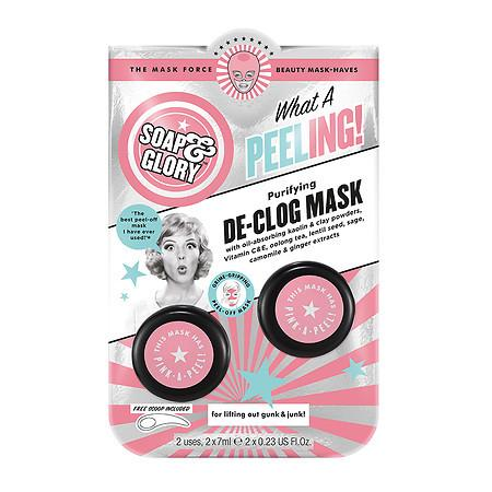 Soap & Glory What A Peeling Mask - 0.23 oz.