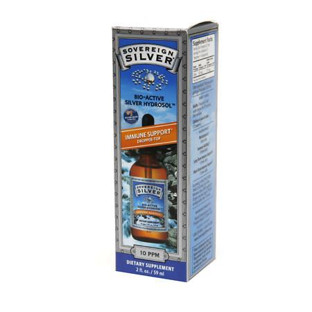 Sovereign Silver Bio-Active Silver Hydrosol, Dropper-Top - 2 fl oz