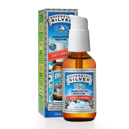 Sovereign Silver First Aid Gel - 2 fl oz
