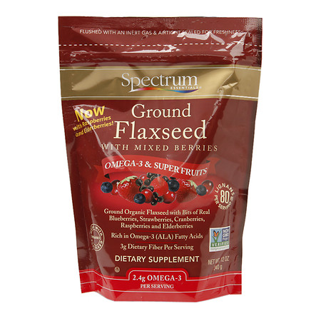 Spectrum Essentials Flaxseed Dietary Supplement Ground - 12 oz.