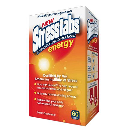 Stresstabs Energy, Tablets - 60 ea
