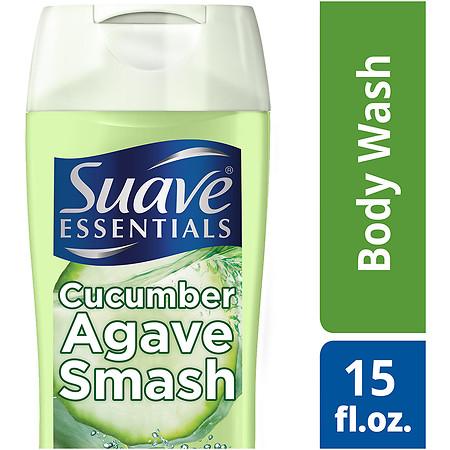 Suave Essentials Body Wash Essential Cucumber Agave - 15 oz.