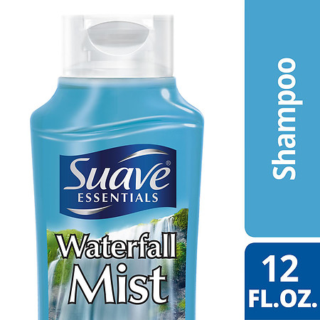 Suave Essentials Shampoo Waterfall Mist - 12 oz.