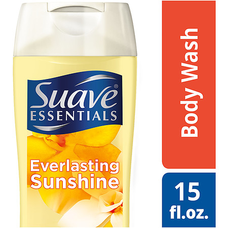 Suave Naturals Essentials Body Wash Everlasting Sunshine - 15 fl oz