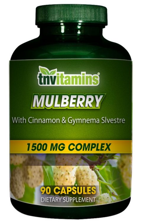 Sugar Blocker With White Mulberry, Cinnamon and Gymnema Sylvestre
