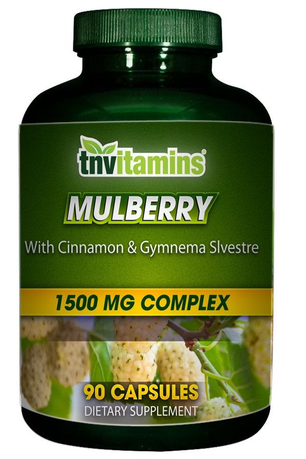 Sugar Blocker With White Mulberry, Cinnamon and Gymnema Sylvestre