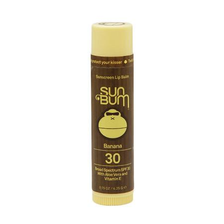 Sun Bum Sunscreen Lip Balm SPF 30 Banana - 0.15 oz.