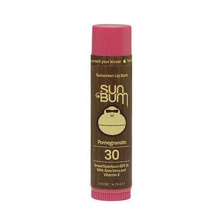 Sun Bum Sunscreen Lip Balm SPF 30 Pomegranate - 0.15 oz.