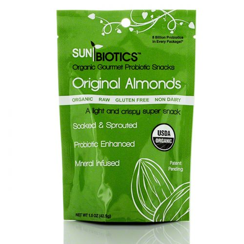 Sunbiotics Original Almonds, 1.5 oz