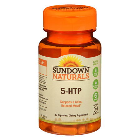Sundown Naturals 5-HTP Dietary Supplement Capsules - 30 ea.