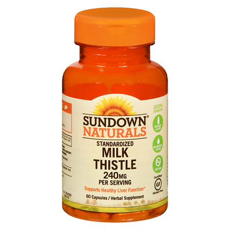 Sundown Naturals Naturals Milk Thistle Xtra, Capsules - 60 ea
