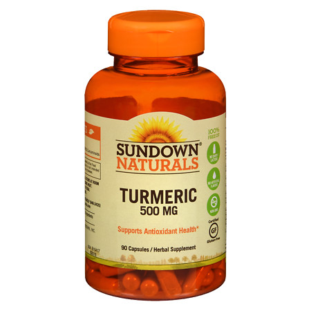 Sundown Naturals Turmeric 450mg, Capsules - 90 ea