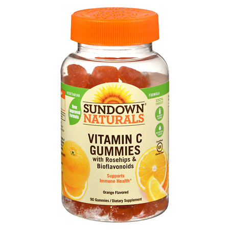 Sundown Naturals Vitamin C Gummies Orange - 90 ea