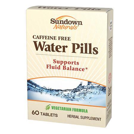 Sundown Naturals Water Pills Tablets - 60 ea