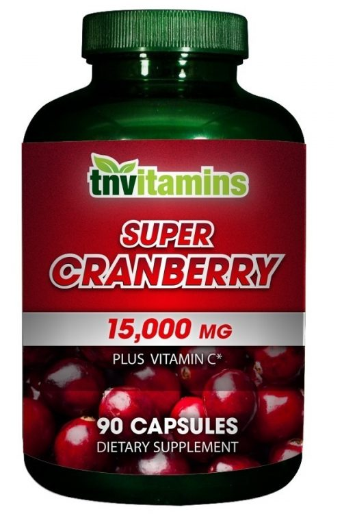 Super Cranberry 15000 Mg Concentrate Capsules
