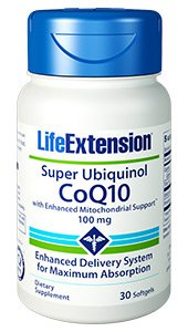 Super Ubiquinol CoQ10 with Enhanced Mitochondrial Support™, 100 mg, 30 softgels