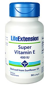 Super Vitamin E, 400 IU, 90 softgels