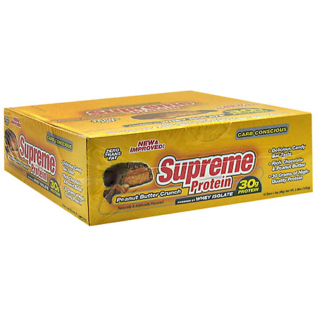 Supreme Protein Carb Conscious Bars Peanut Butter Crunch - 3 oz.