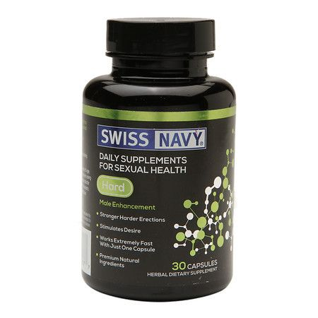 Swiss Navy Hard Male Enhancement - 30 ea