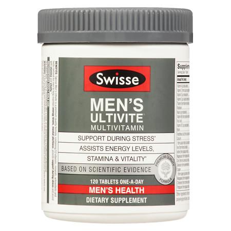 Swisse Mens Ultivite F1 - 120 ea