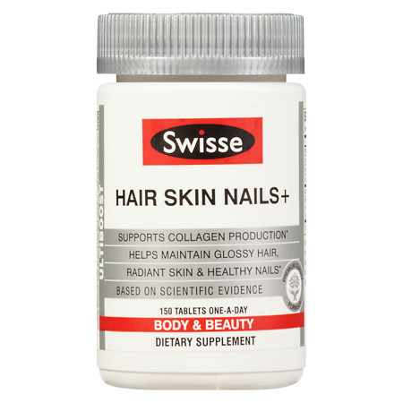 Swisse Ultiboost Hair Skin & Nails - 150 ea