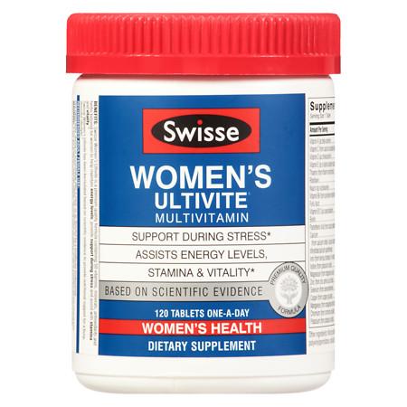 Swisse Womens Ultivite F1 - 120 ea