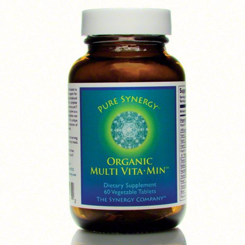 Synergy Company Organic Multi Vita-min, Two a Day, 60 count