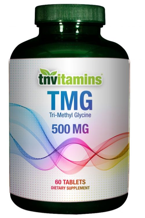 TMG (Tri-Methyl Glycine) 500 Mg Tablets
