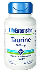 Taurine, 1000 mg, 90 vegetarian capsules