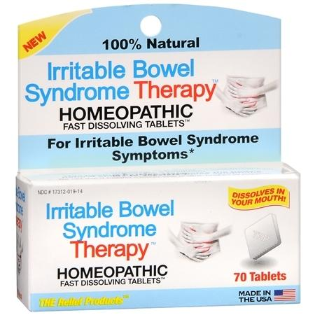 The Relief Products Irritable Bowel Syndrome Therapy Homeopathic Fast Dissolving Tablets - 70 ea