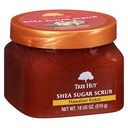 Tree Hut Body Scrub Hawaiian Kukui - 18 oz.