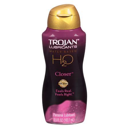 Trojan H2O Closer Lubricant - 5.5 oz.