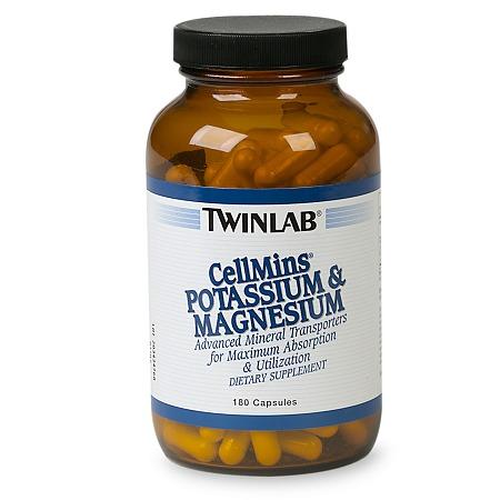 Twinlab CellMins Potassium & Magnesium, Capsules - 180 ea