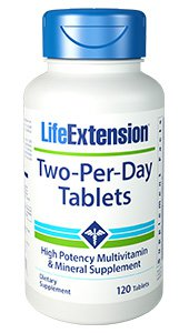 Two-Per-Day Tablets, 120 tablets