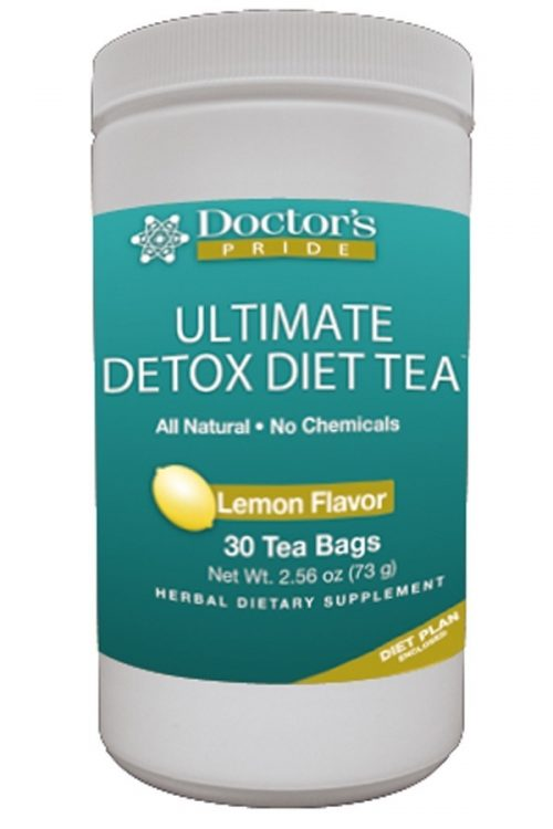 Ultimate Detox Diet Tea - Lemon Flavor