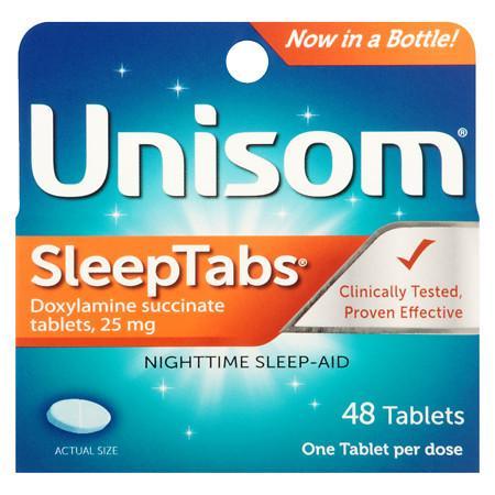 Unisom Nighttime Sleep-Aid SleepTabs - 48 ea