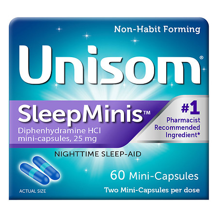 Unisom SleepMinis Nighttime Sleep Aid - 50 ea