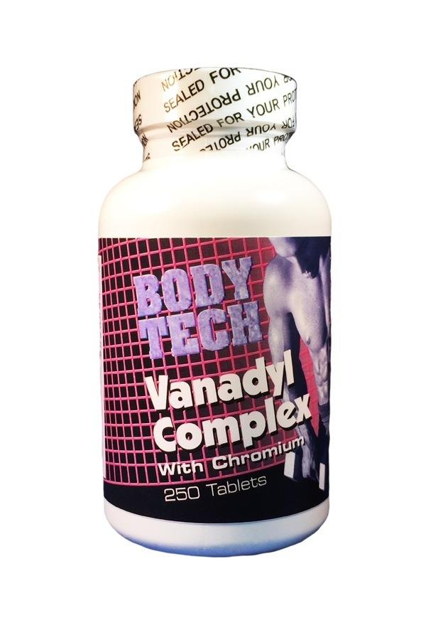 Vanadyl Complex (Vanadium) With Chromium and Niacin