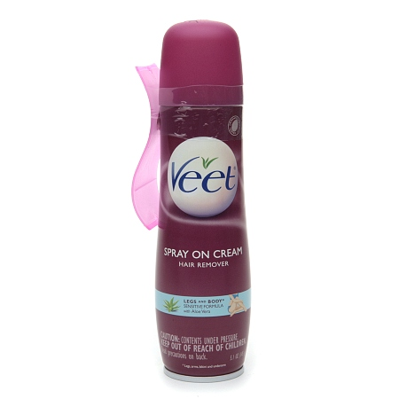 Veet Spray On Hair Removal Cream - 5.1 oz.