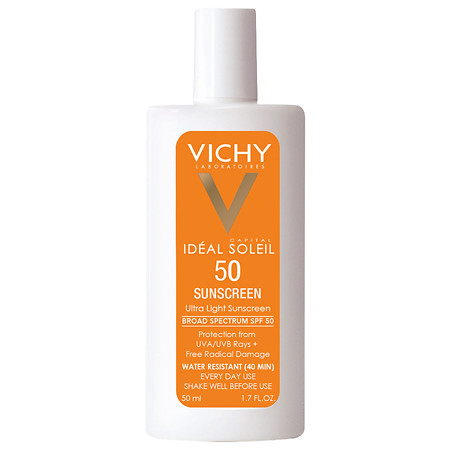 Vichy Ideal Captial Soleil Ultra Light Face Sunscreen SPF 50 with Antioxidants - 1.7 oz.