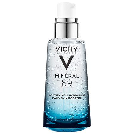 Vichy Mineral 89 Hyaluronic Acid Face Serum Moisturizer to Hydrate Skin - 1.69 oz.