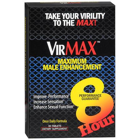 VirMAX Maximum Male Enhancement Dietary Supplement Tablets - 30 ea