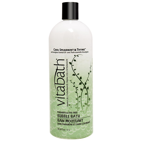 Vitabath Cool Spearmint & Thyme Bubble Bath - 33.8 oz.