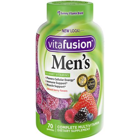Vitafusion Men's Daily Multivitamin Gummy - 70 ea