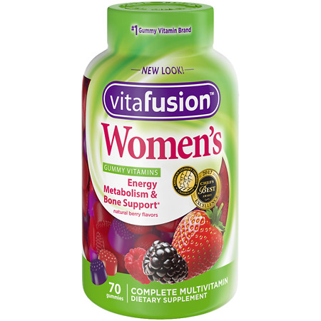 Vitafusion Women's Daily Multivitamin Gummy - 70 ea